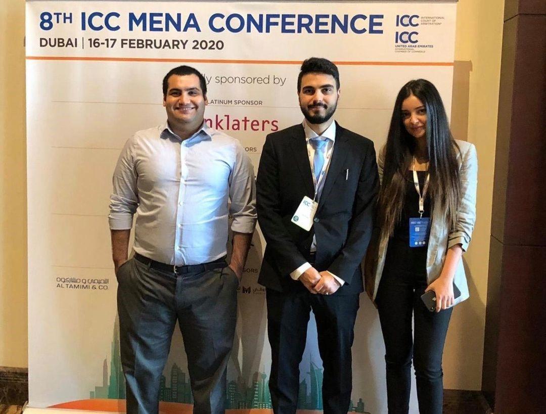 USJ Dubai students at ICC Mena Conference - Saint Joseph University - Dubai