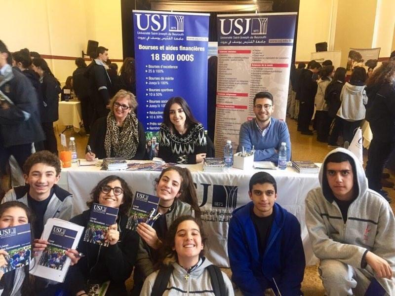 Les élèves du Collège SSCC- Beit Chabab et le SIO