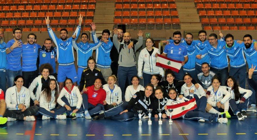 La délégation sportive de l'USJ à l'EuroESADE- Barcelone, 2017.