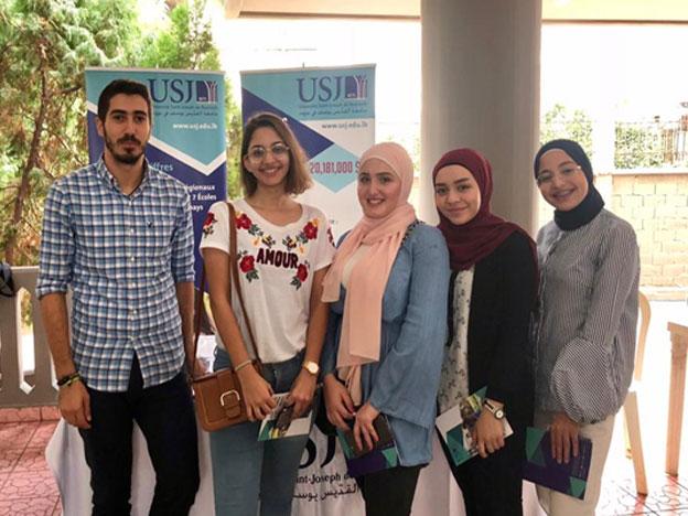 Les élèves de l'Ecole secondaire 'Raoudat Al-Faihaa' et le SIO