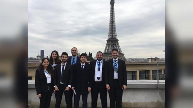 Six étudiants de la Faculté de droit à Paris et à Vienne !