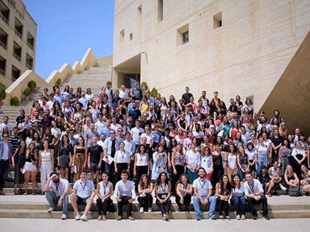 Pour l'année 2019-2020, plus de 250 étudiants internationaux ont choisi comme destination le pays des cèdres, et plus précisement l'Université Saint-Joseph de Beyrouth pour un séjour d'un semestre ou d'une année universitaire.