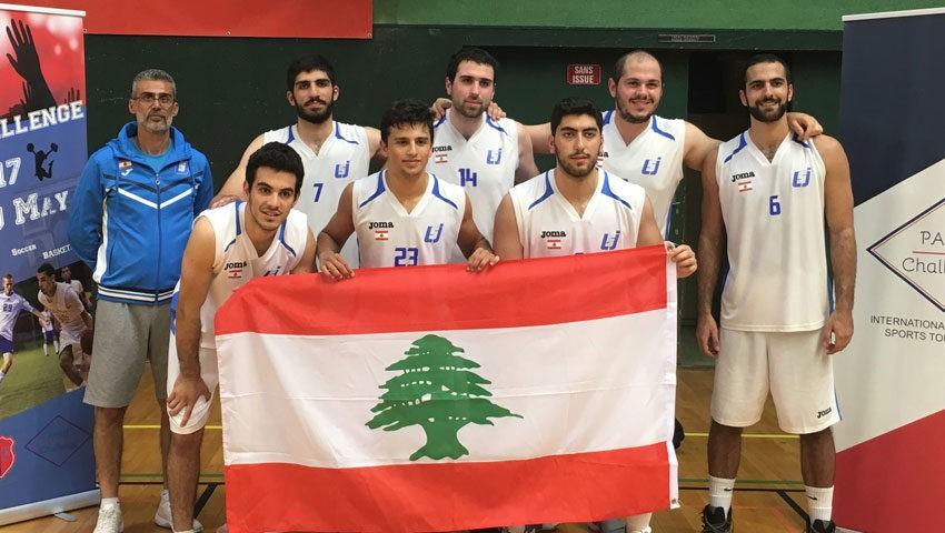 Coach Tony Kara, Ronardo El Kaddoum, Wael Comair, Georges Souaid, Farid Abou Jaoude Miguel Haddad, Joel abdallah, Georges Kary