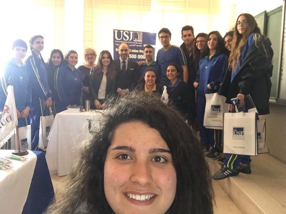 Les élèves du Collège Des Sœurs Antonines- Mar Doumit et le SIO