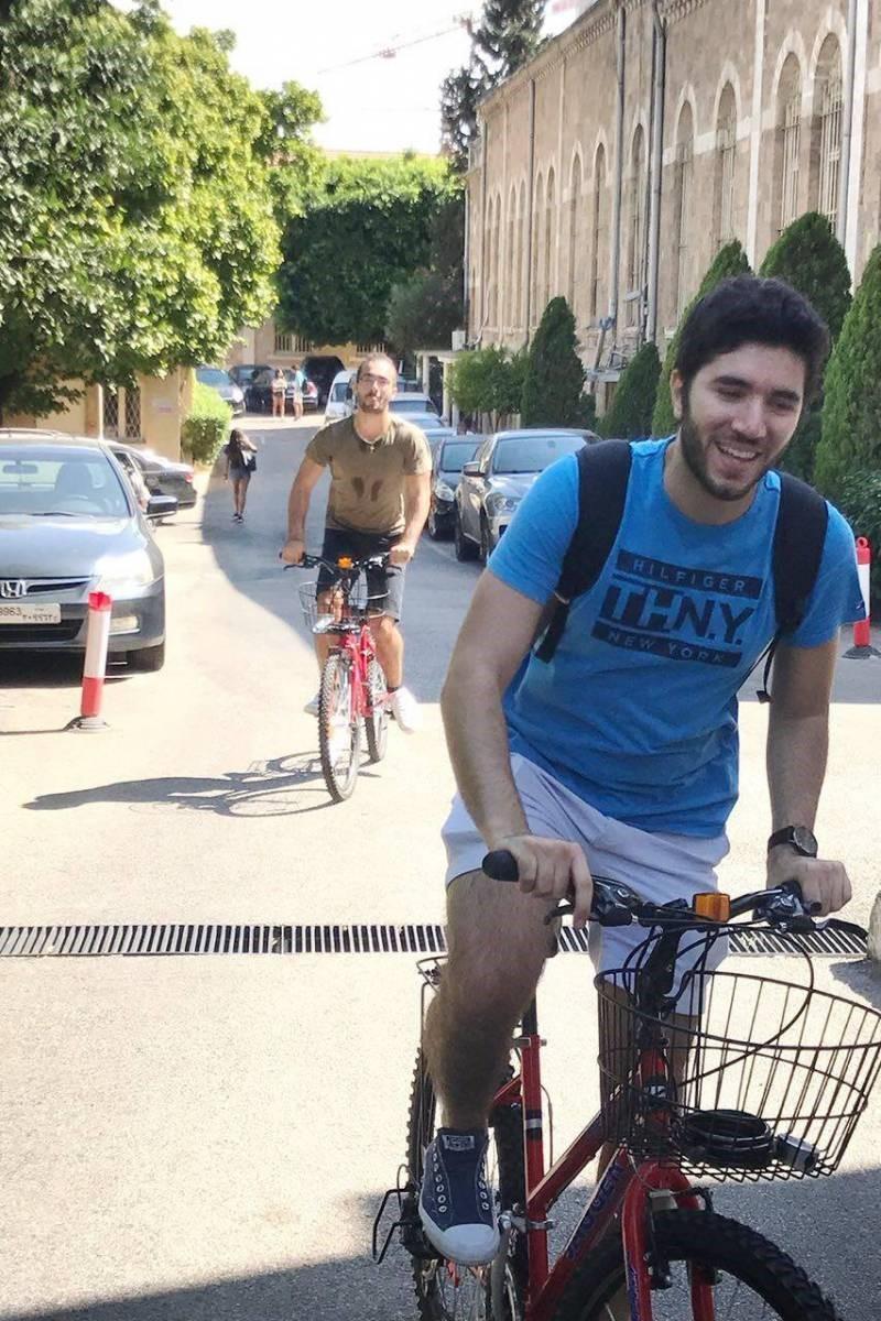 L'USJ à vélo