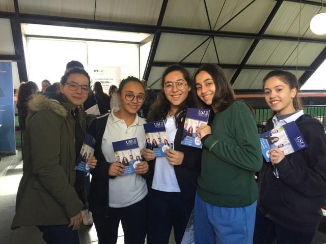 Les élèves du Collège des Sœurs des Saints Cœurs Kfarhabab - Ghazir