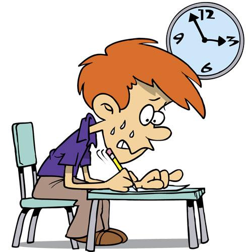 comment ne pas stresser pour les examens